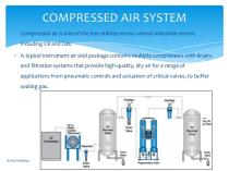 نکات اجرایی سیستم هوای فشرده
