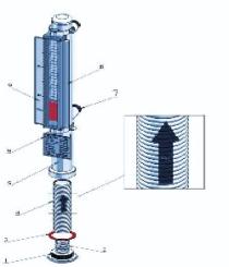 نصب و راه اندازی لول گیج مغناطیسی